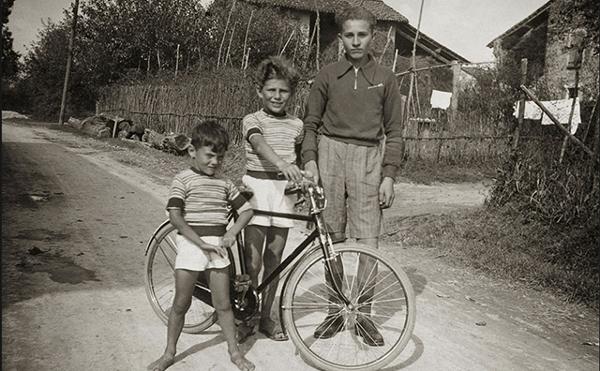 Giorgio armani childhood