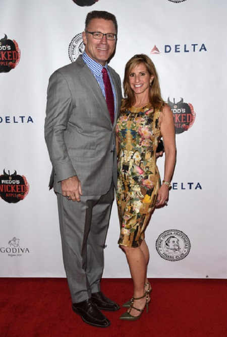 Chris Long parents Howie long and Diane Addonizio Long