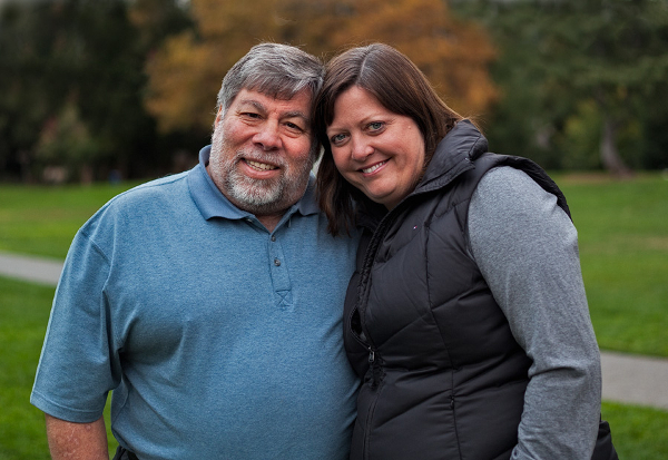 Steve Wozniak and Janet Hill