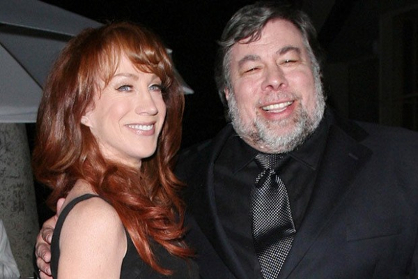 Steve Wozniak and Candice Clark