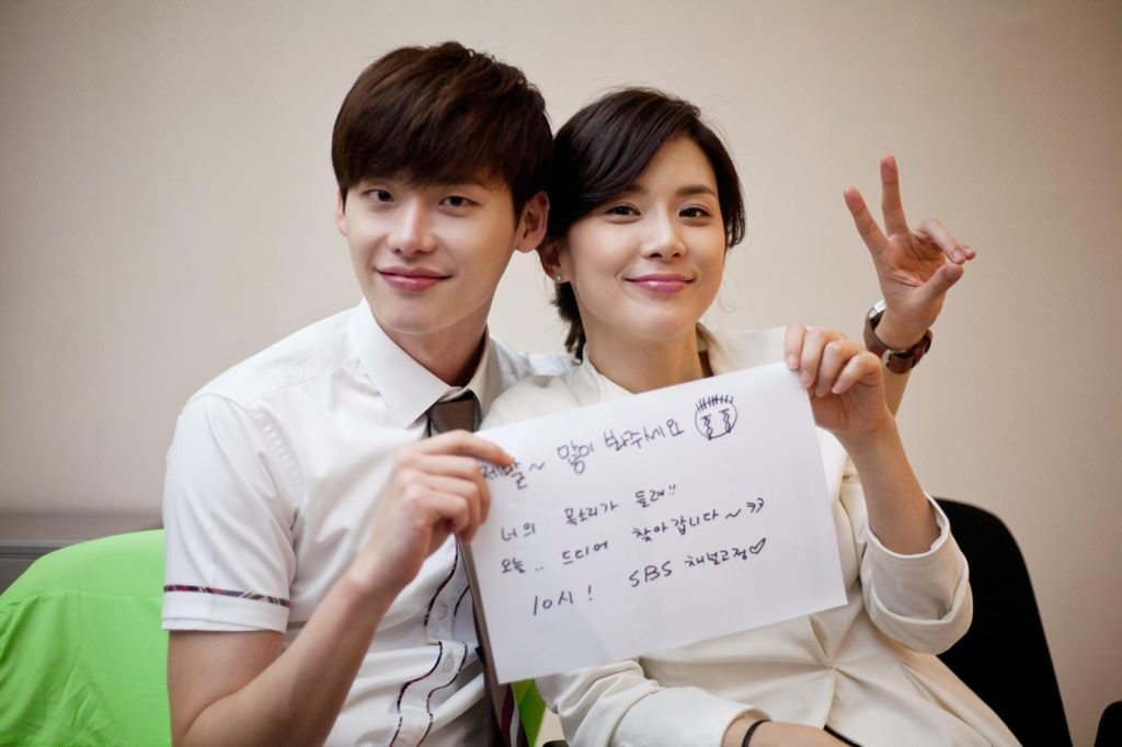 Lee jong suk with lee boo youngh