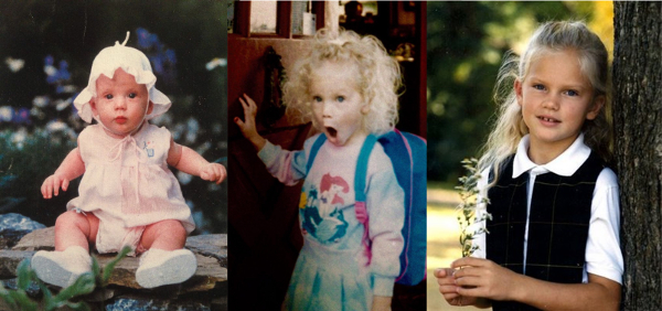 Taylor Swift childhood photos