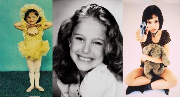 Natalie portman childhood photos