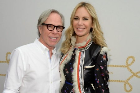Tommy Hilfiger and his wife dee ocleppo