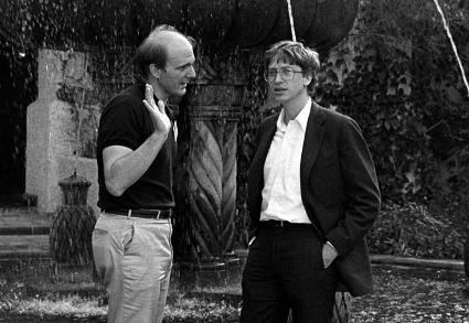 Steve Ballmer and Bill Gates