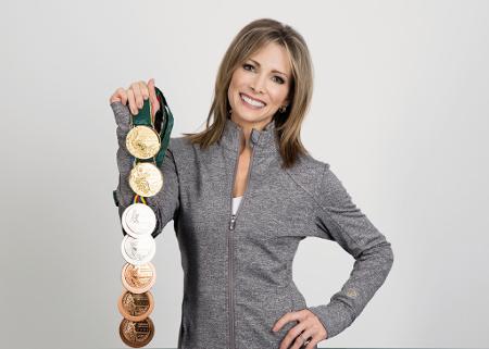 Shannon Miller medals