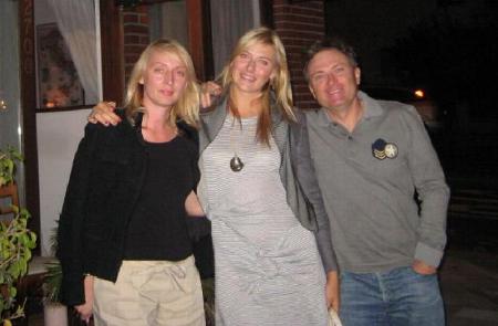 Sharapova Parents