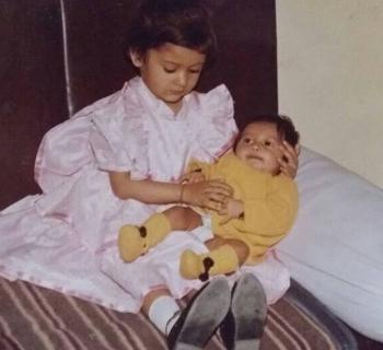 Payal Rajput Childhood photos