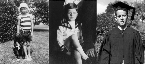 John F Kennedy Childhood photos