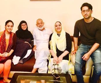Shaheer Sheikh parents