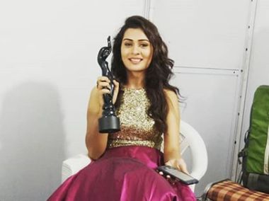 Payal Rajput Filmfare award
