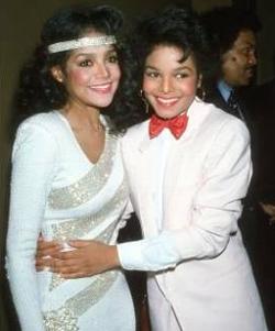Janet Jackson and La toya jackson