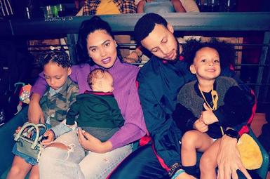 Ayesha Curry Children